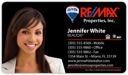 Remax business card templates remax real estate pro for Remax business cards templates